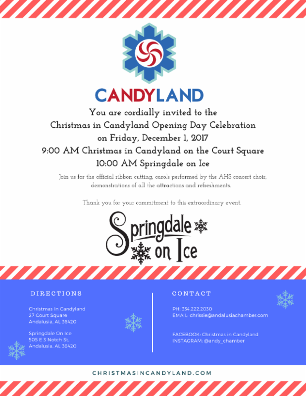 Candyland Opening Day