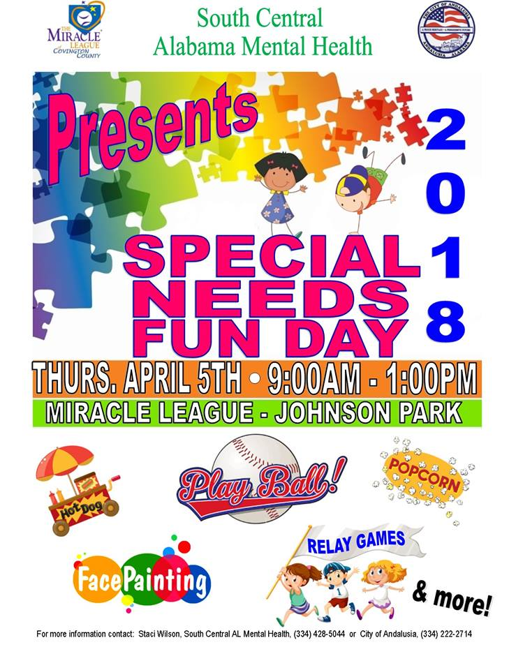 20180405 Special Needs Fun Day