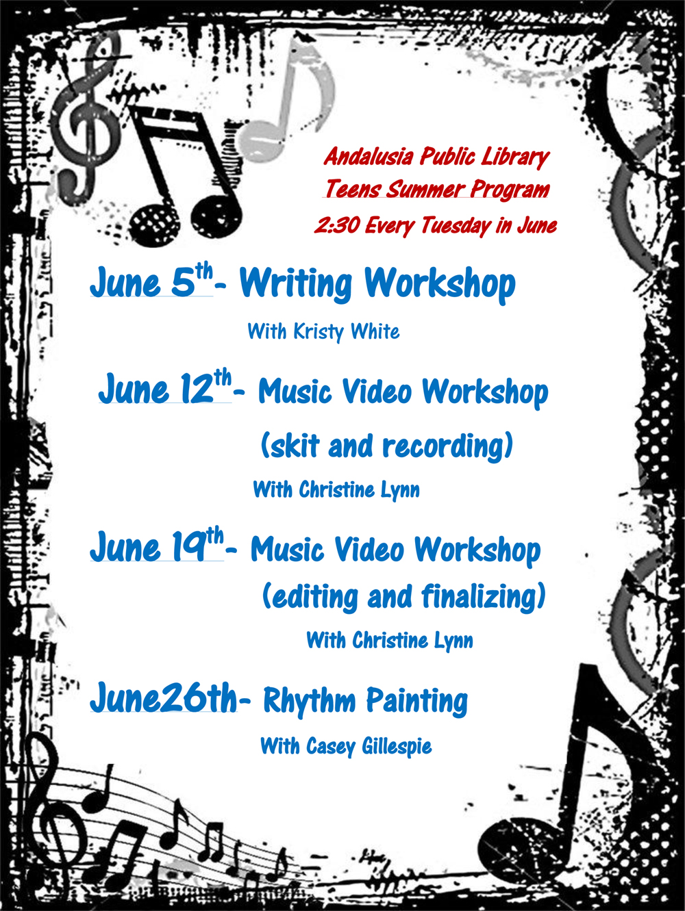 201806 APL Teens Summer Reading Program Flyer