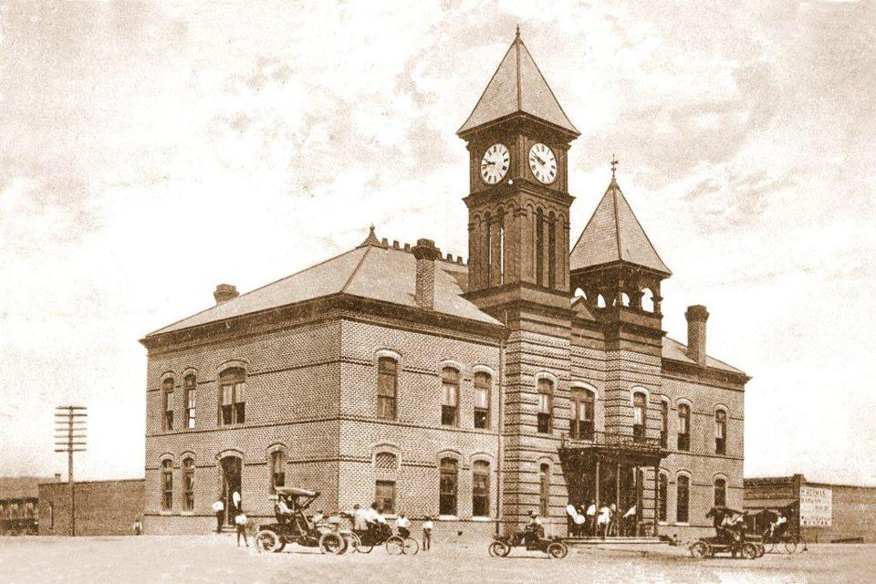 first covington county courthouse